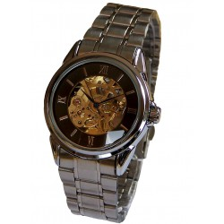 MONTRE AUTOMATIQUE SKELETON METAL B