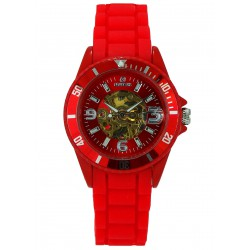 MONTRE AUTOMATIQUE S TIME RED