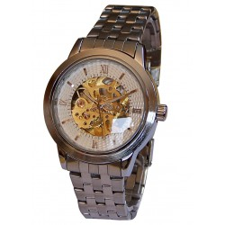 MONTRE AUTOMATIQUE WHITE SKELETON
